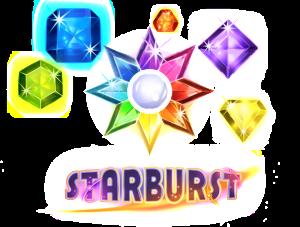 Free spins på spelautomaten Starburst