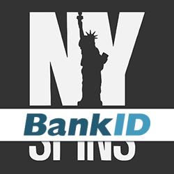 NYSpins logo bankID