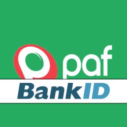 Paf logo BankID