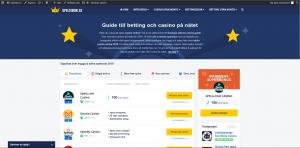 Topplistan på bästa casinon för Android 2018