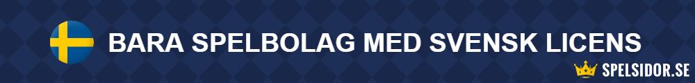 bettingsidor spelsidor svensk licens