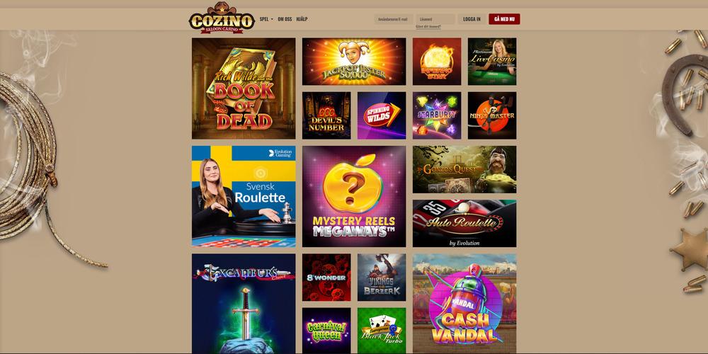 Cozino-casino-med-Bankid