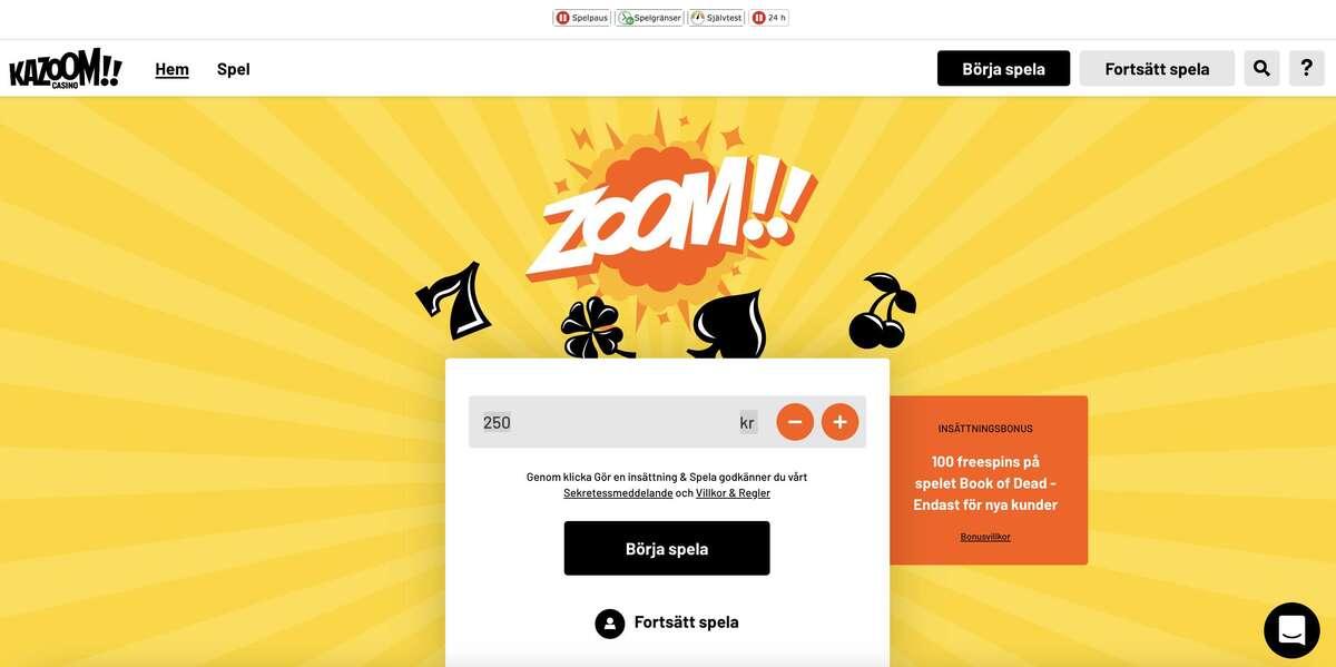 kazoom casino 2021
