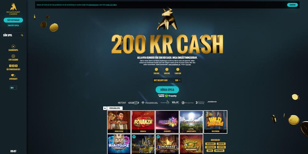 no-account-casino-bonus-utan-omsattning