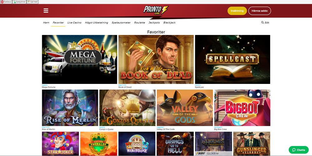 pronto-live-casino