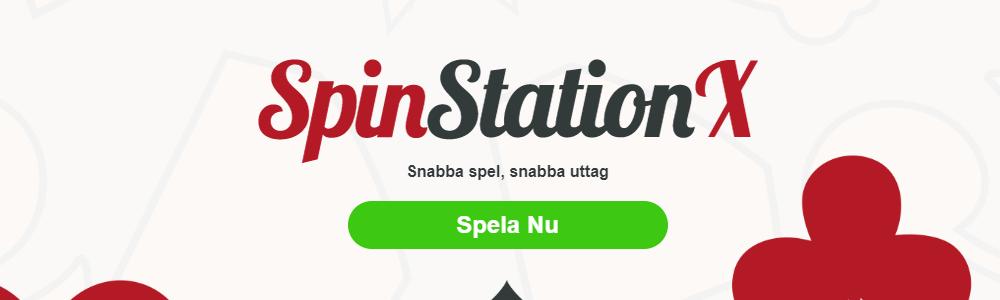 SpinStationX Casino är LIVE! - Spelsidor.se